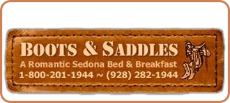 Visit our sister property - Boots & Saddles B&B in Sedona AZ