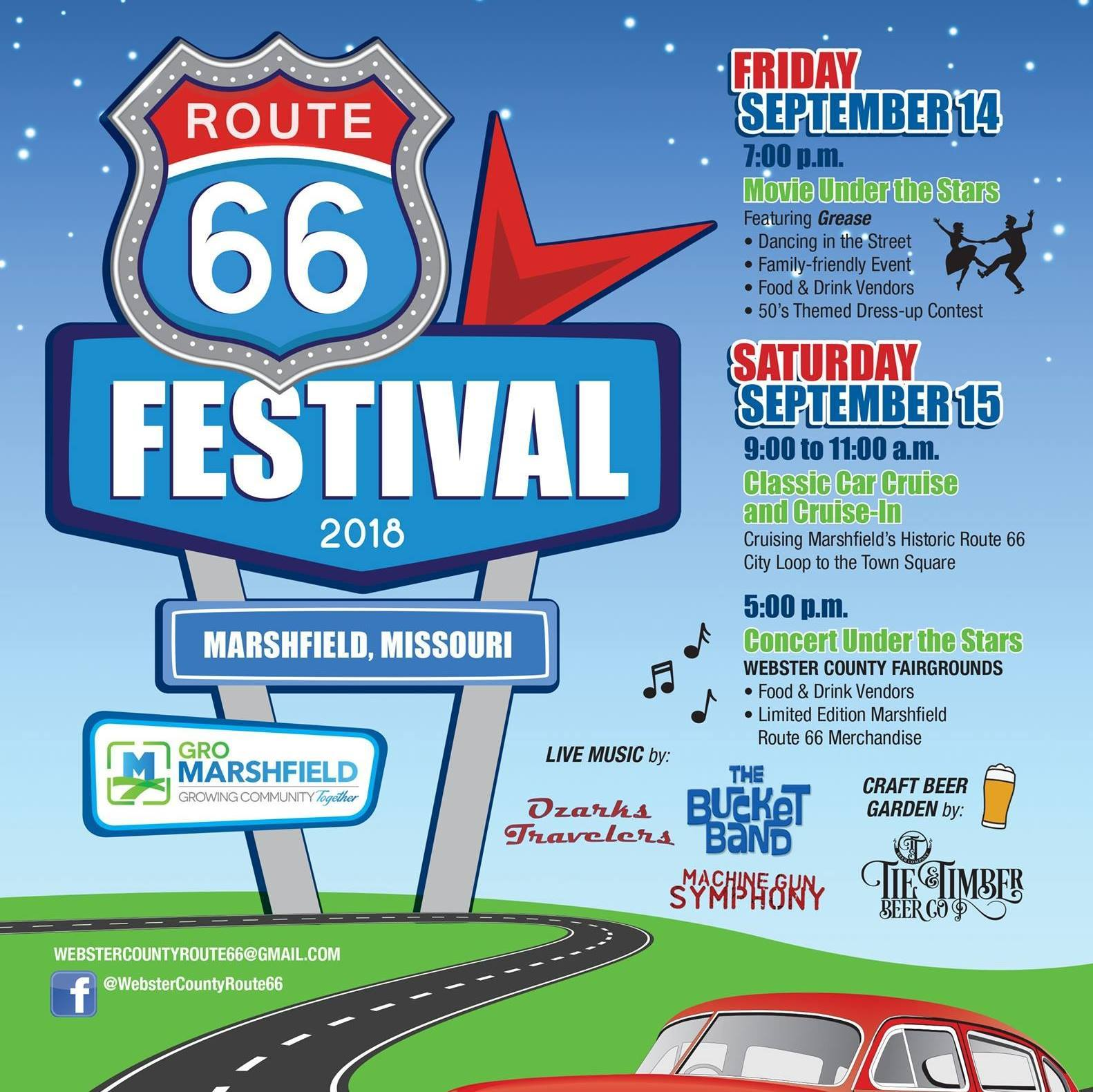 Route 66 Festival in Marshfield