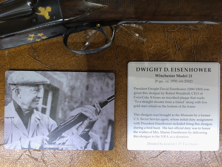 Ike's Shotgun at NRA Bass Pro Museum