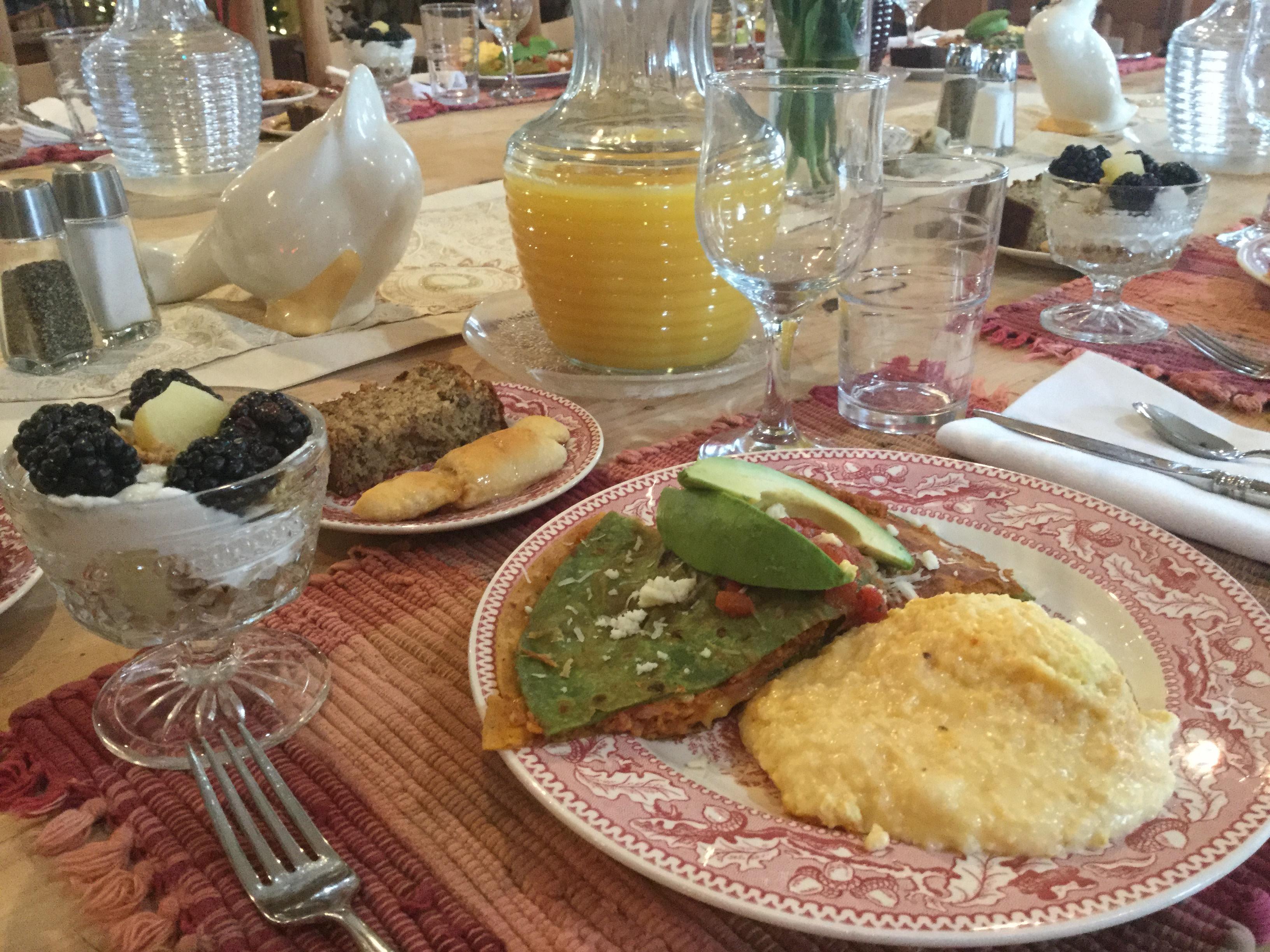 Retreat Breakfast