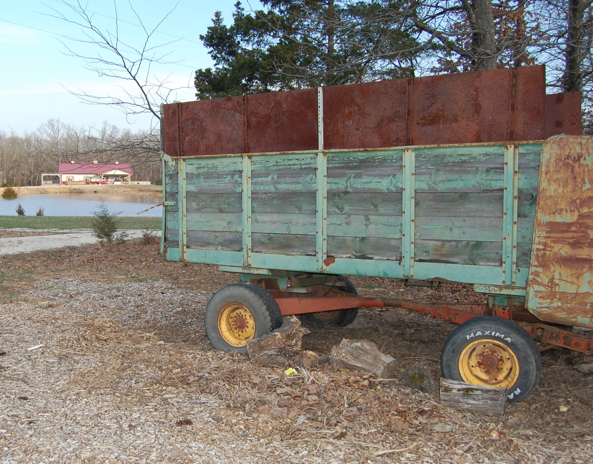 Silage Wagon Arrival