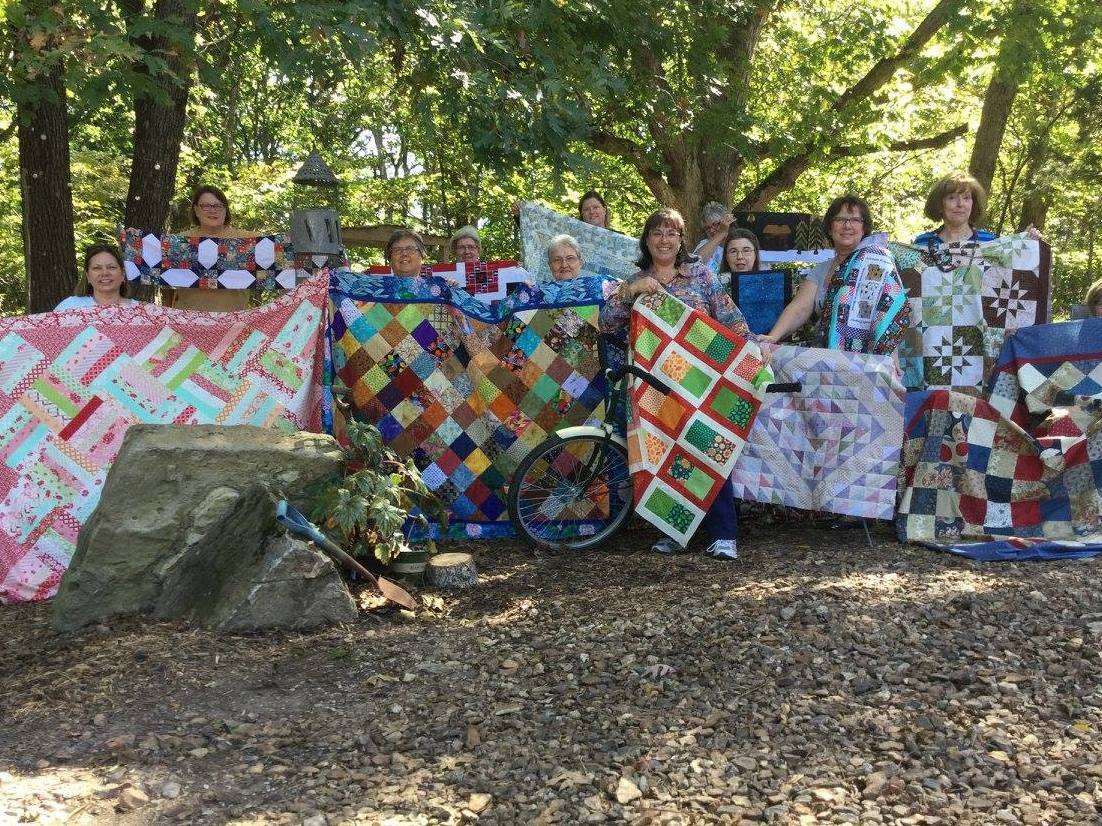 Ozarks Quilting Group Retreat / Scrapbooking Retreat