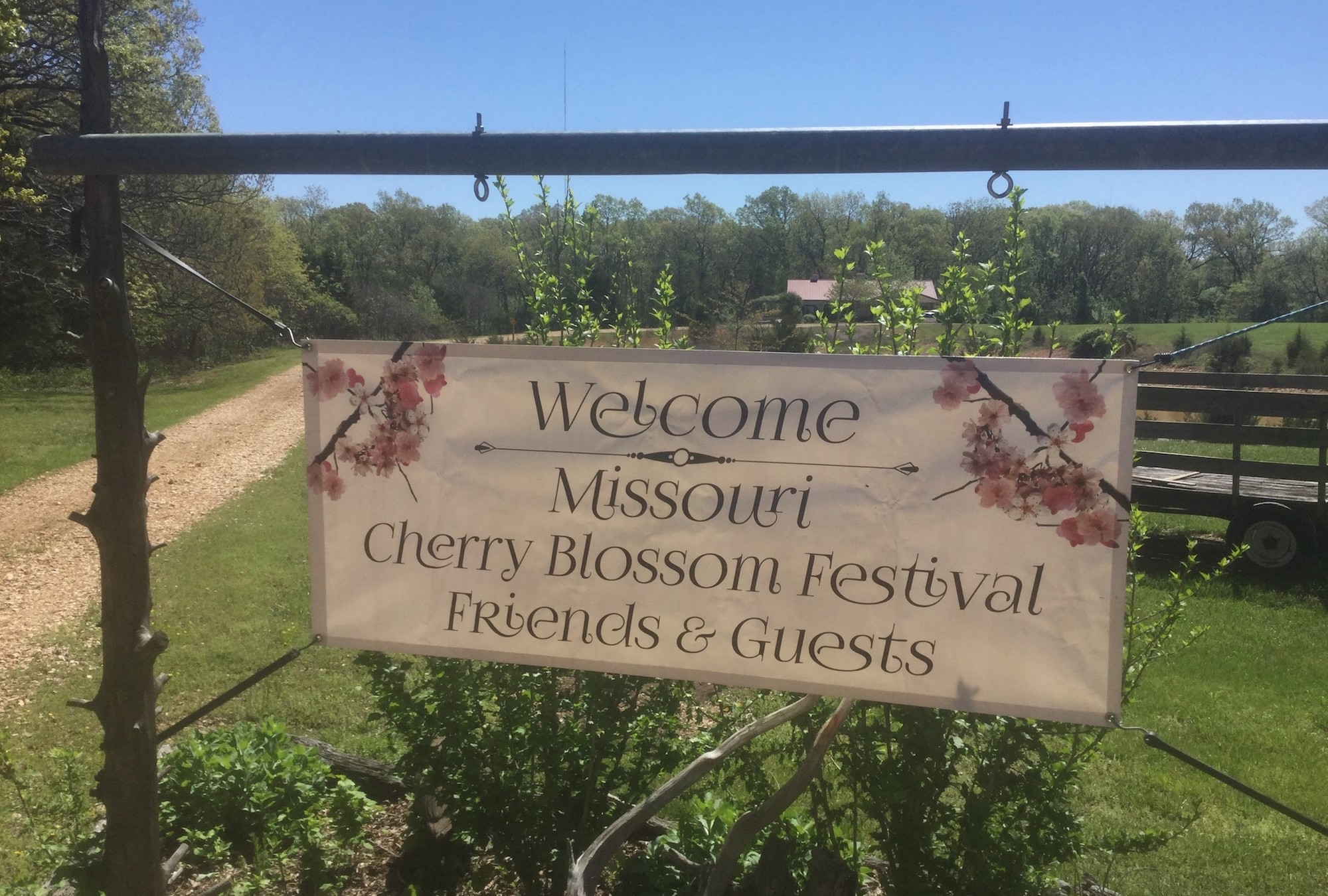 Welcome CBF Guests Sign