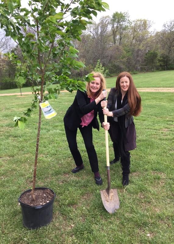 Walton Girls Planting