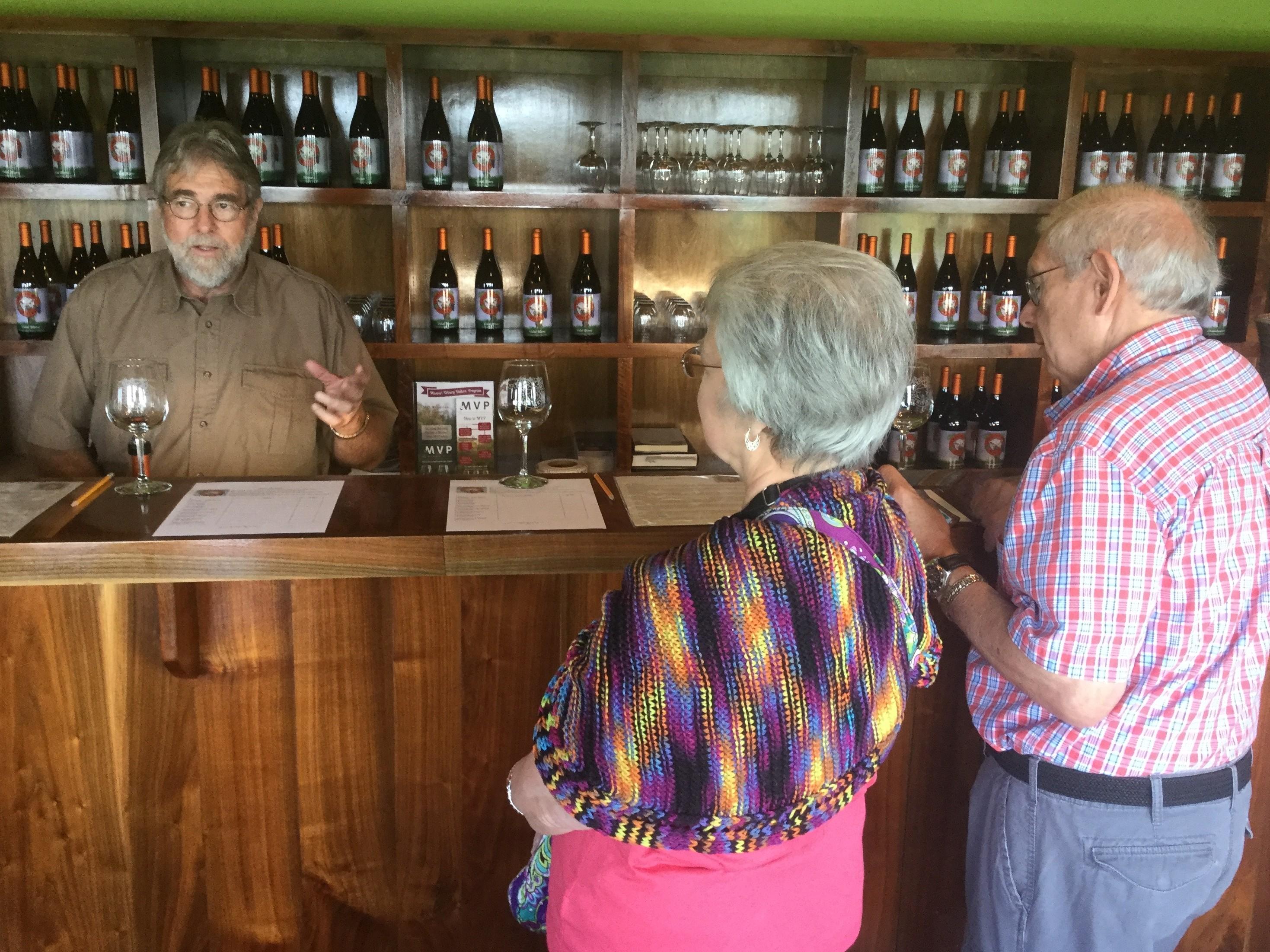 Ozarks Wine Tasting