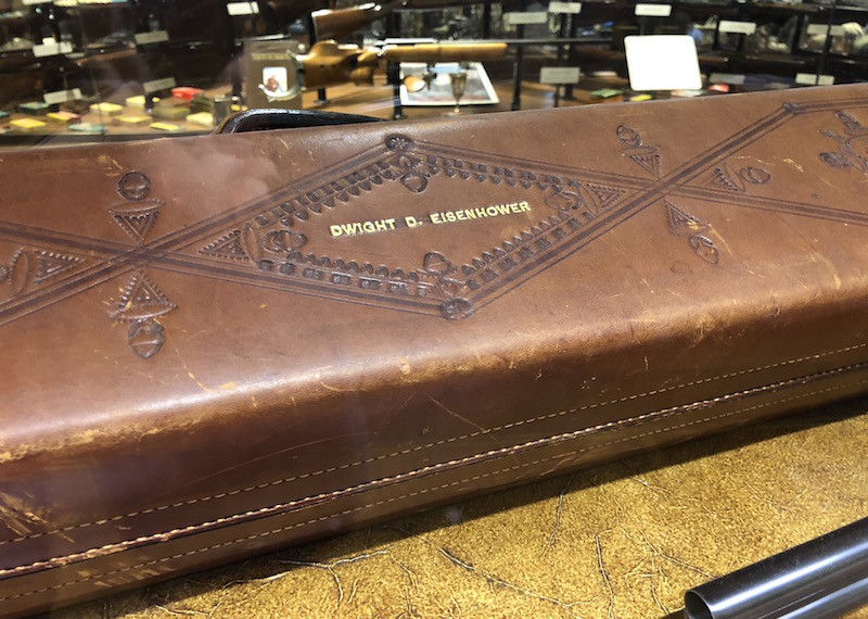 Ike's Shotgun Leather Case