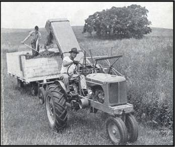 Early Silage Wagon