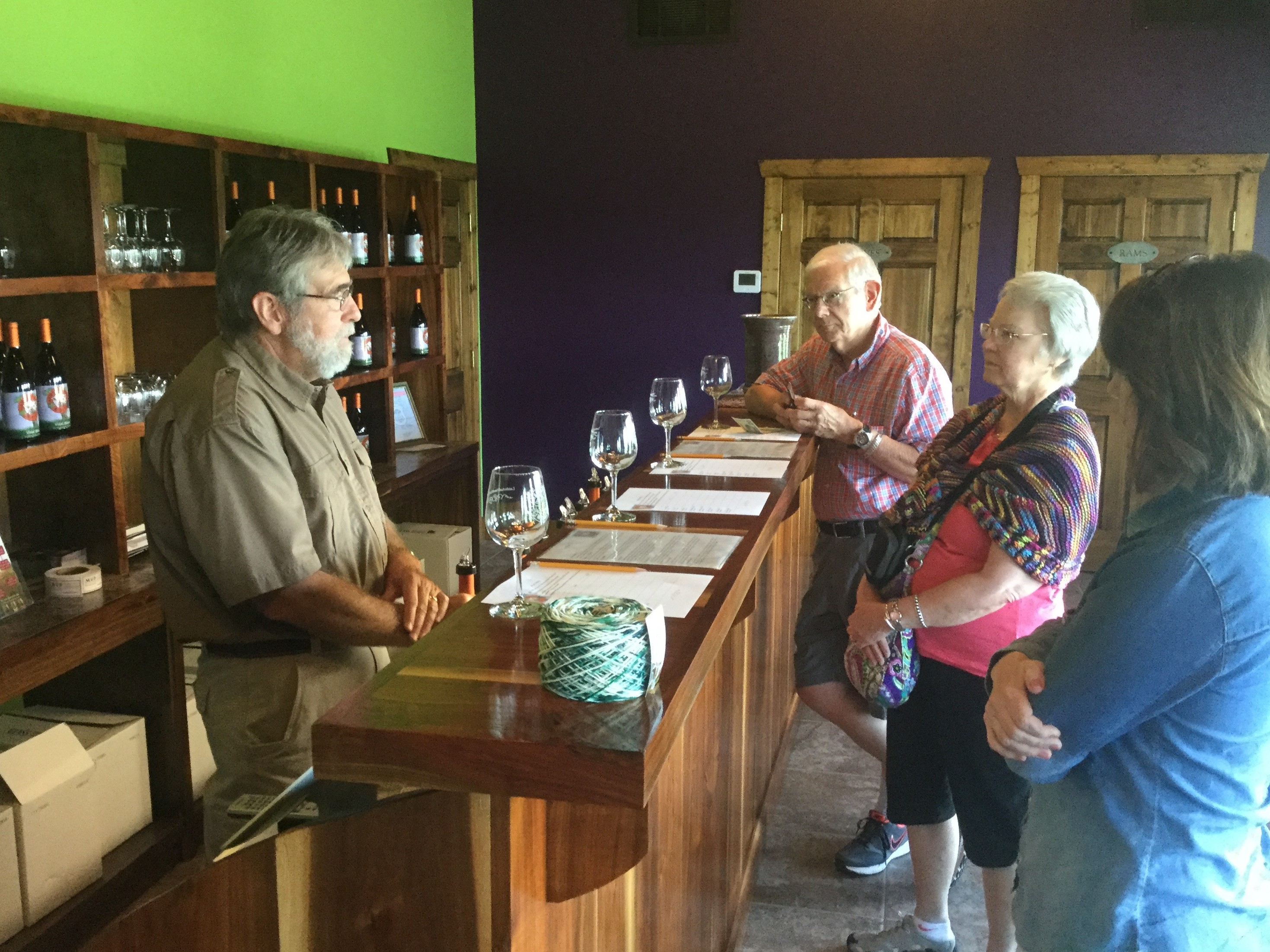 Local Business Winery Tasting