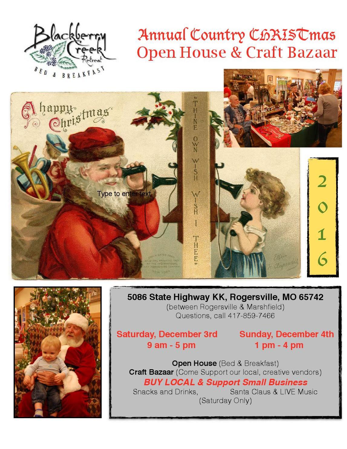 Country Christmas / Craft Bazaar