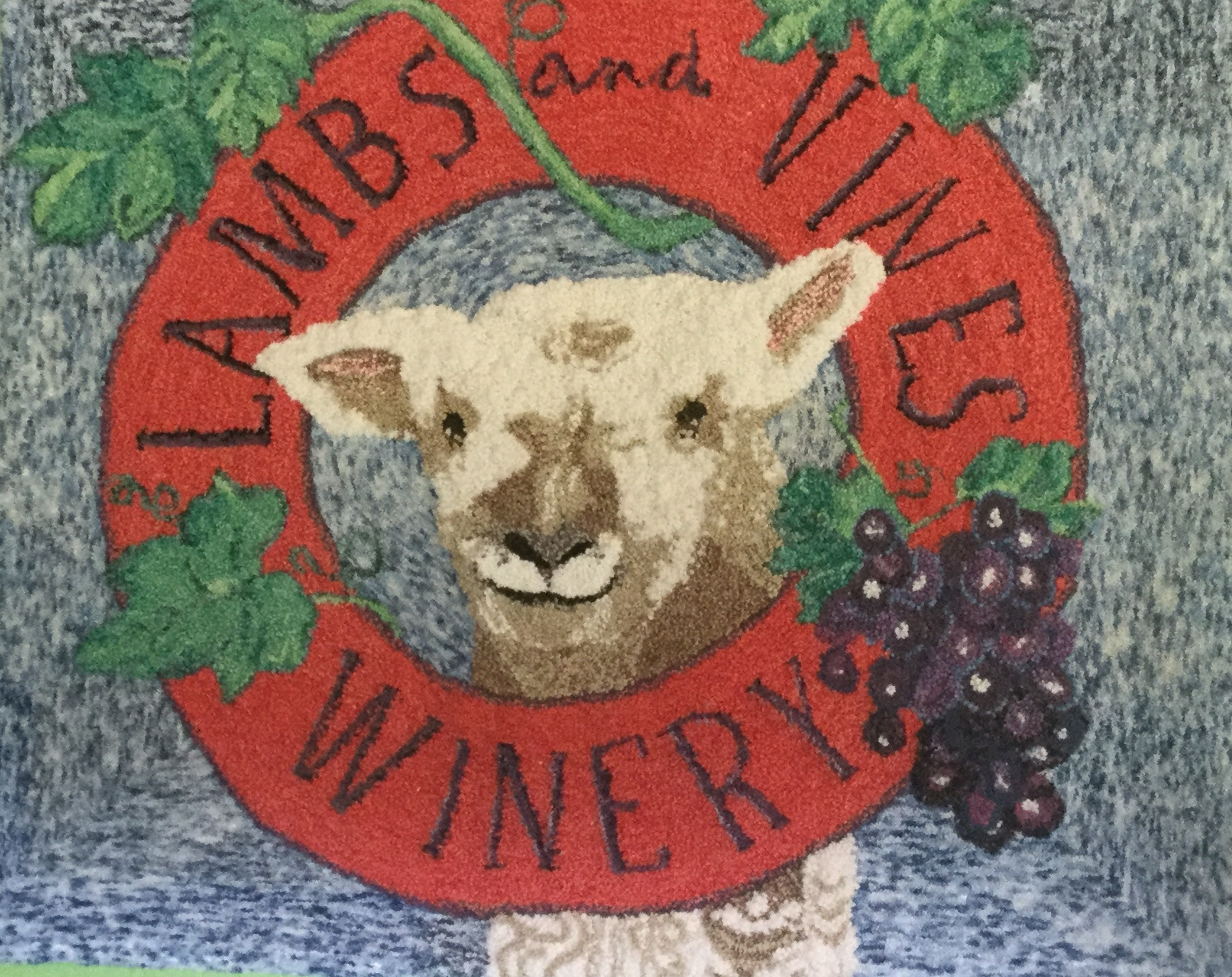 Lambs & Vines Winery Logo