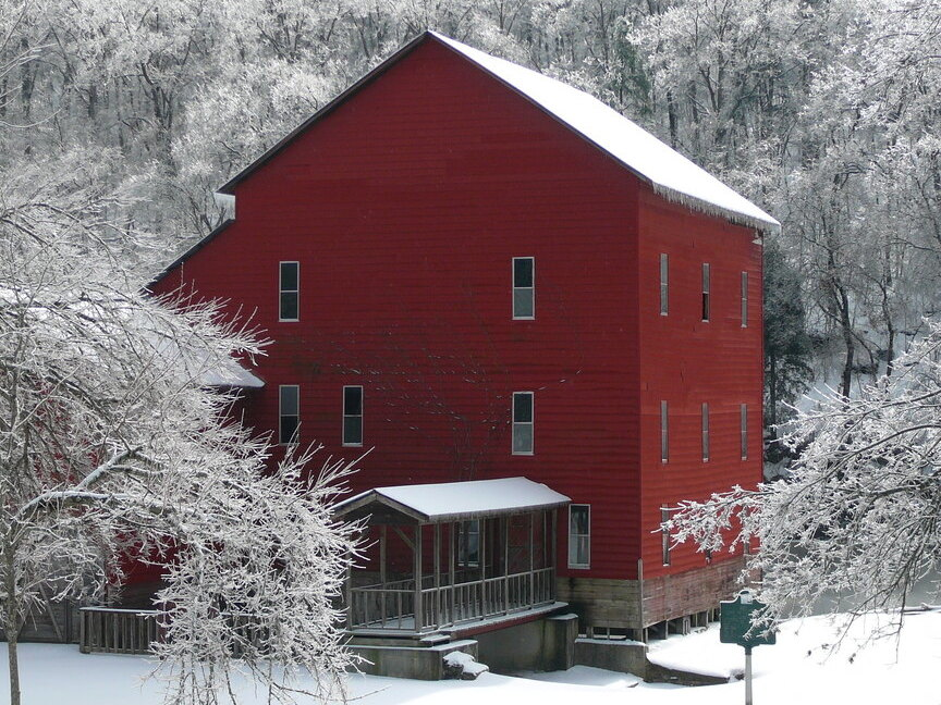 Rockbridge Mill Winter