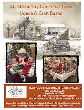 2018 Country Christmas Open House