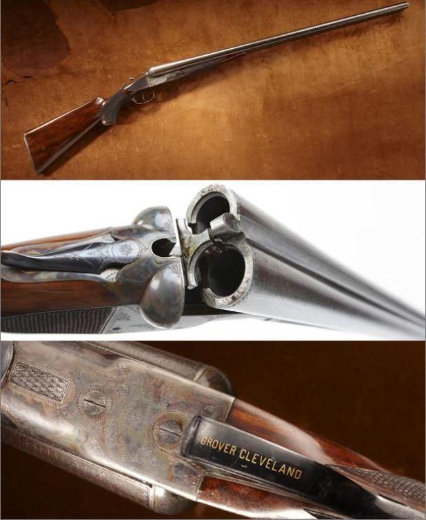 Cleveland's 8 ga Shotgun