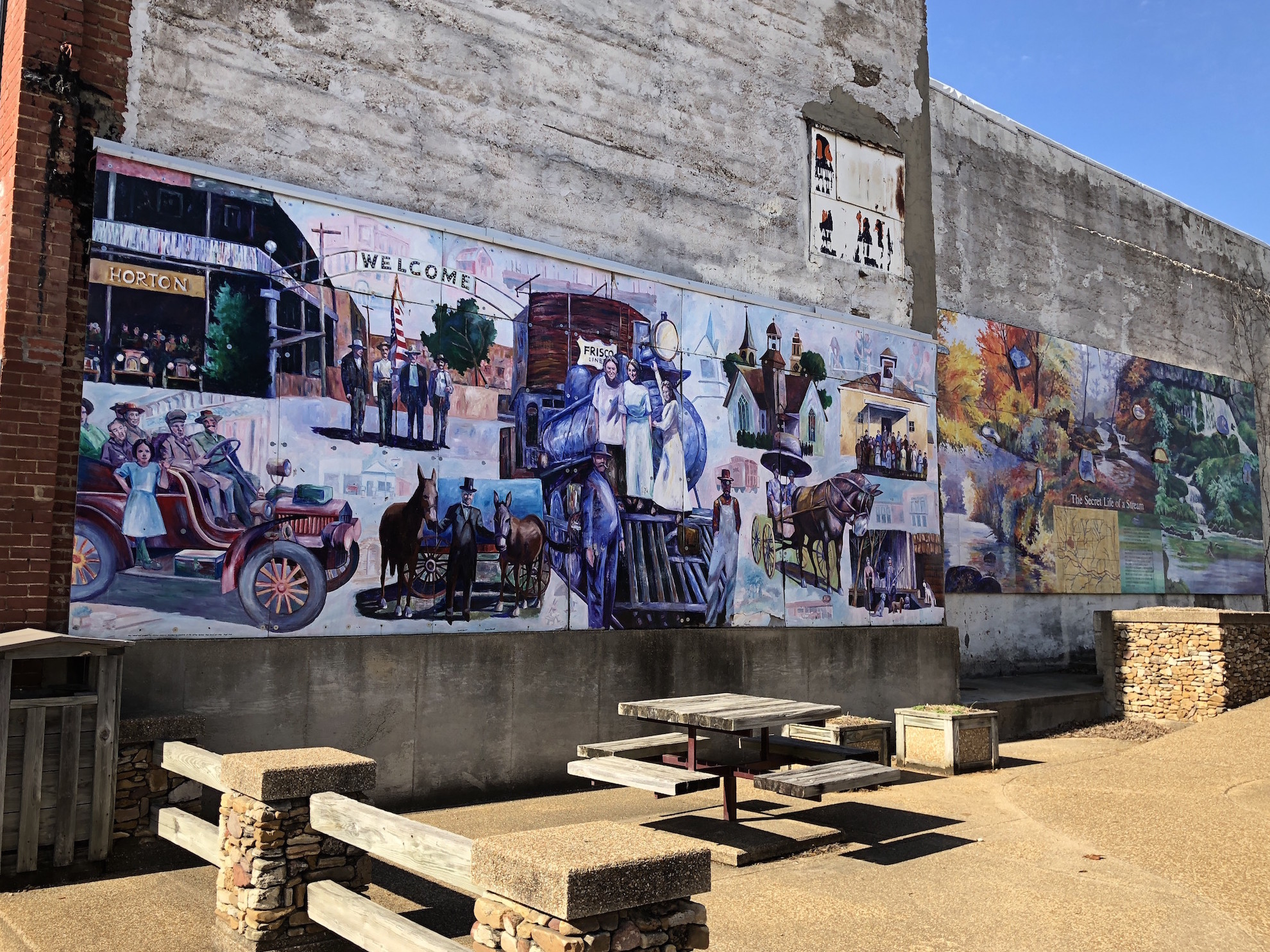 Willow Springs MO Murals
