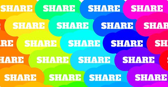Share bubbles