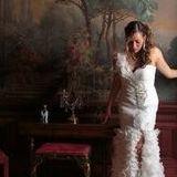Bride in Zuber Parlor