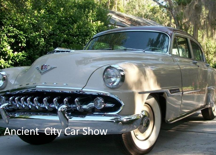 Click-through image for Ancient City Car Show