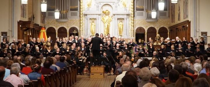 St Aug Chorus Spring Concert