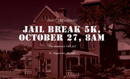 Jail Break 5K run promotional ad