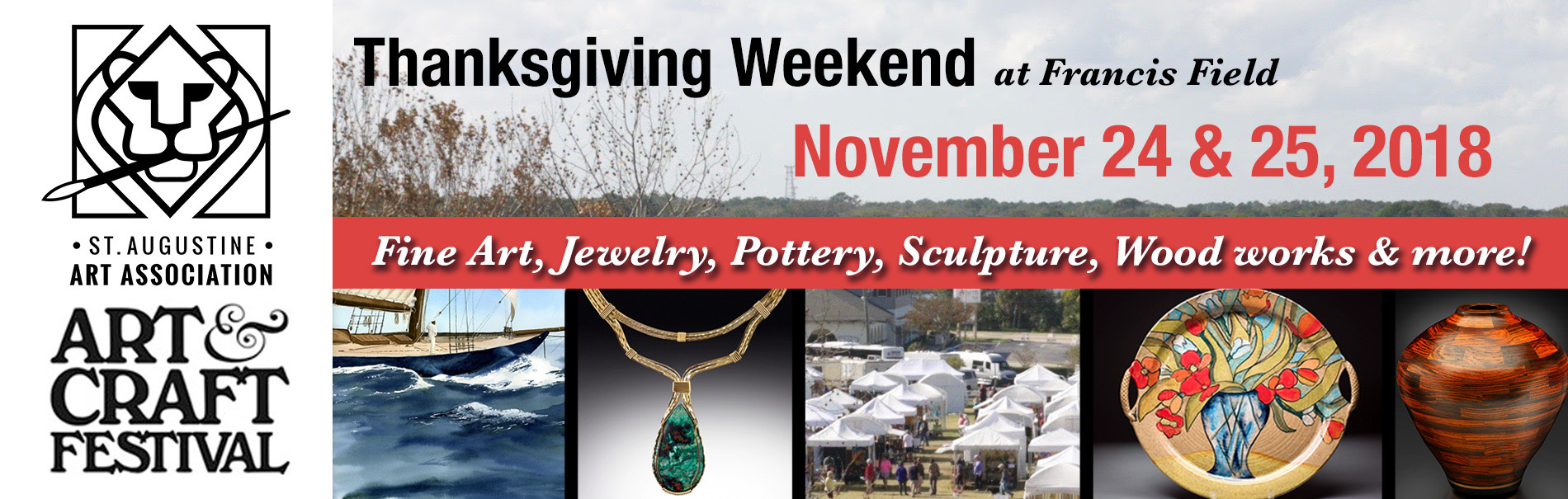 image ad for thanksgiving art and craft festival