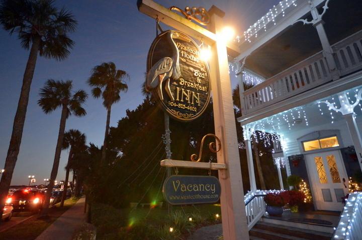 Bayfront Westcott House St Augustine Christmas photo