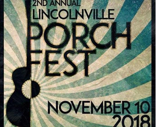 ad image for Lincolnville Porch Fest
