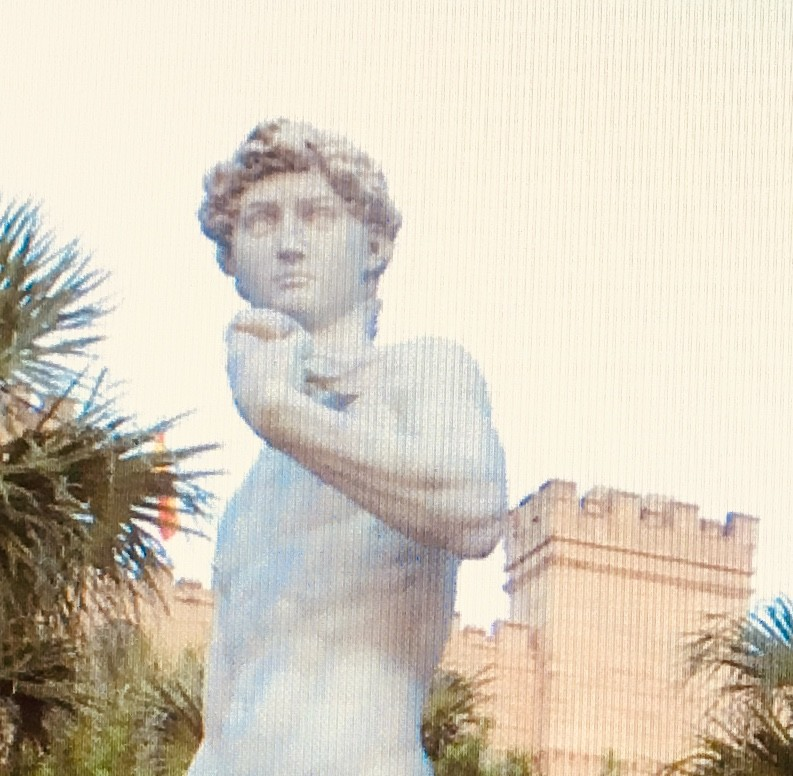 Replica statue of David at Ripley's St Aug