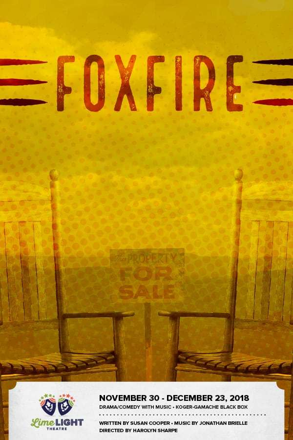 image ad for foxfire