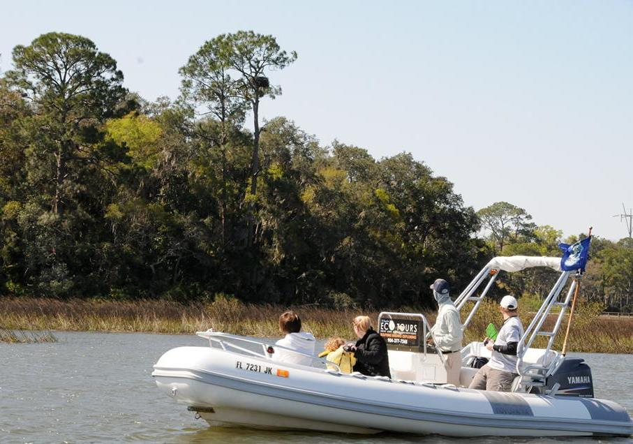 St Augustine eco tours river boat