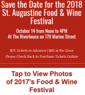 Food and Wine Festival Ad