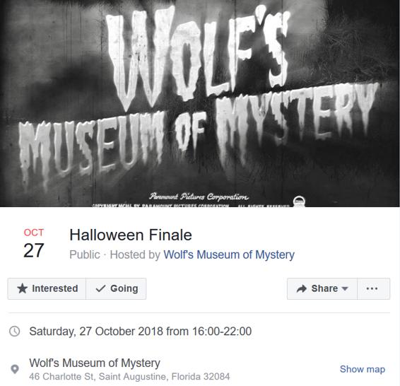 Halloween FB Event Announcement