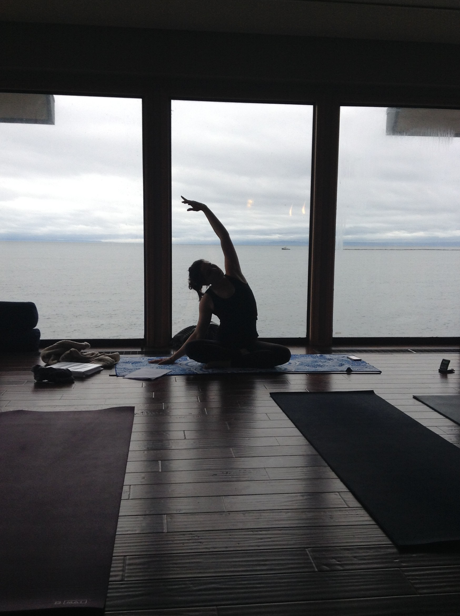 Yoga at Four Winds Beach House