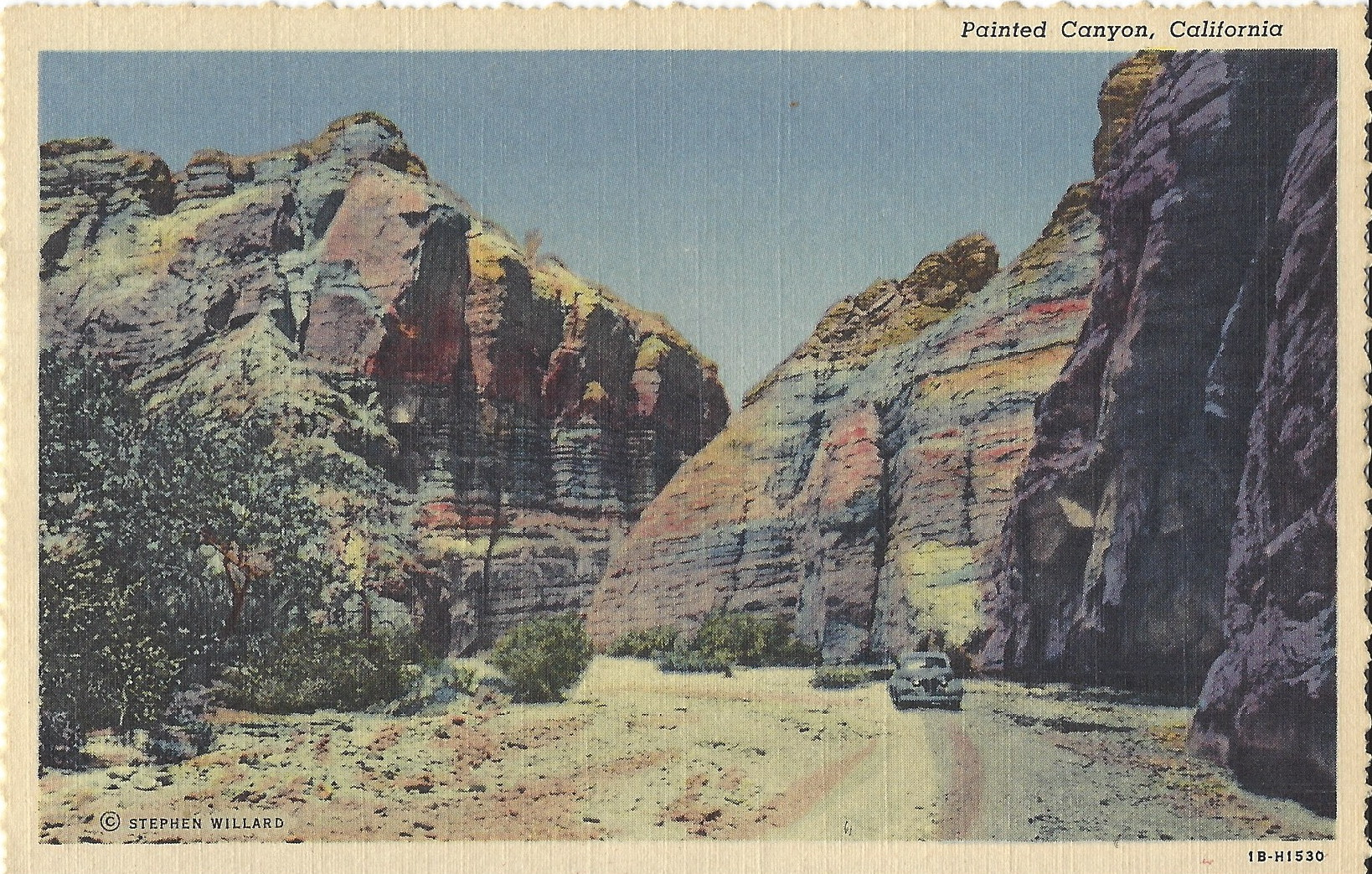 4 Historical Postcards Of Palm Springs, California, THE WESTCOTT