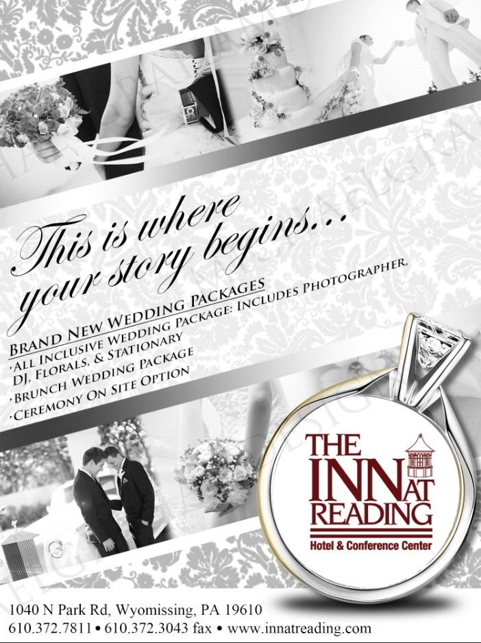 new wedding package flyer