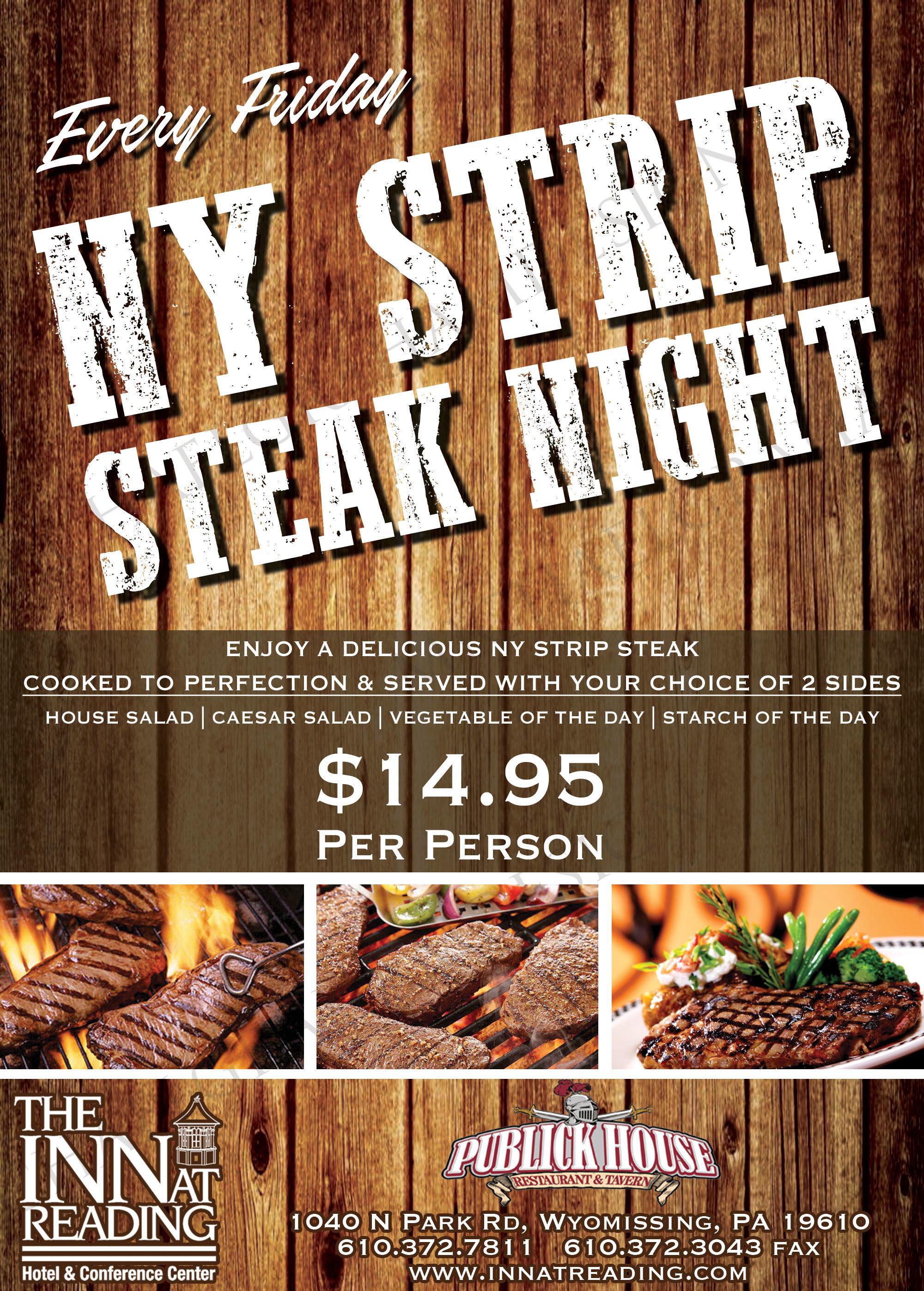 friday night steak night
