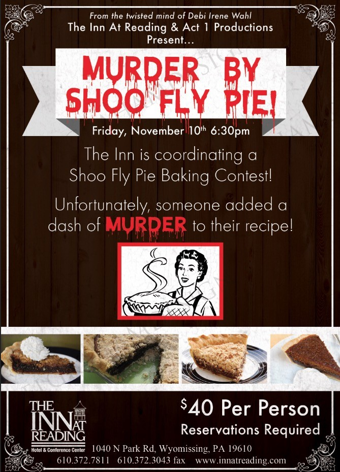 shoo fly murder mystery