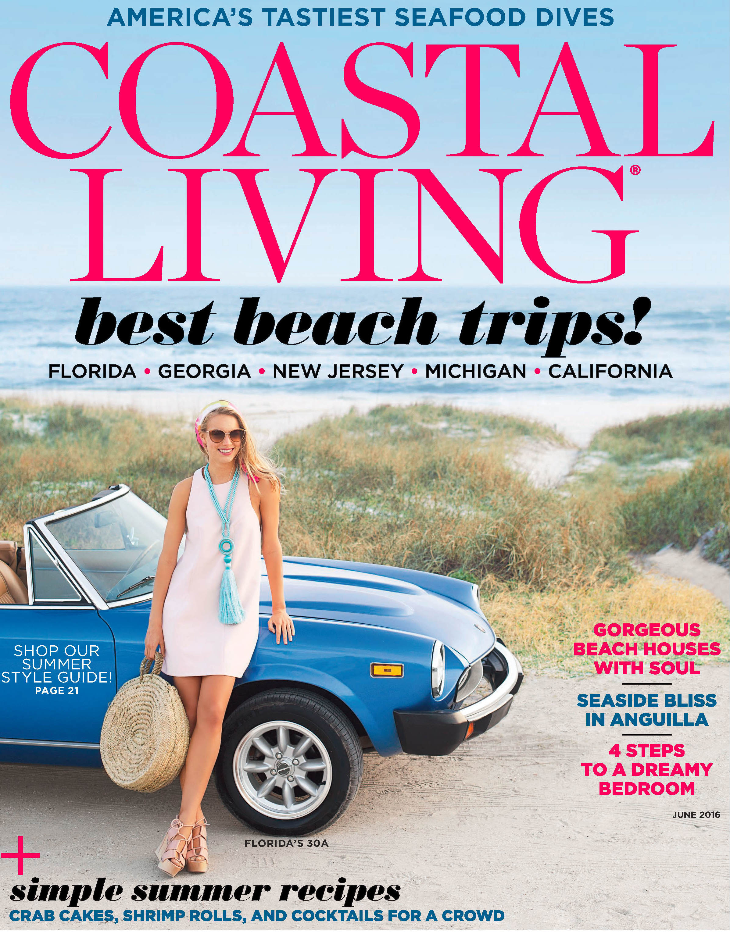 Coastal Living June Cover