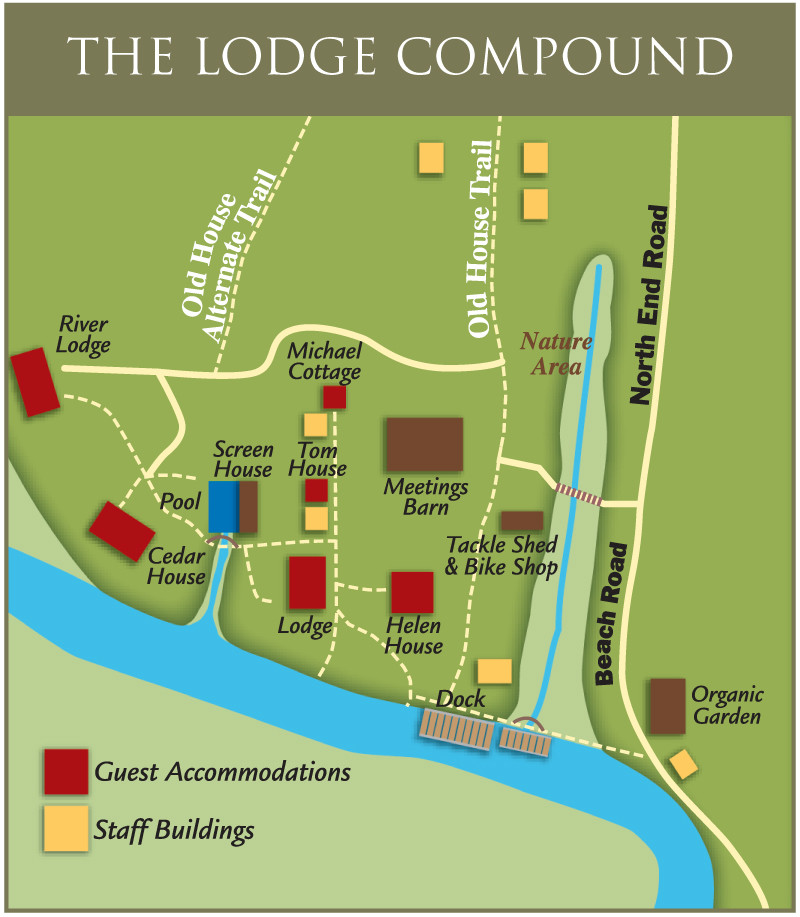 Map of Lodge Compound