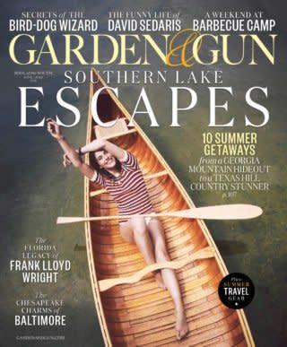 Garden & Gun July 2018