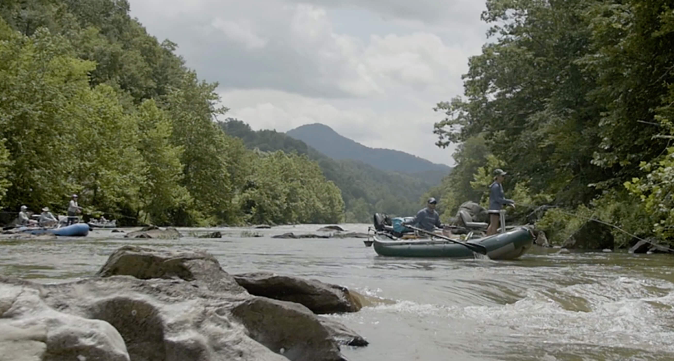 Asheville float fishing