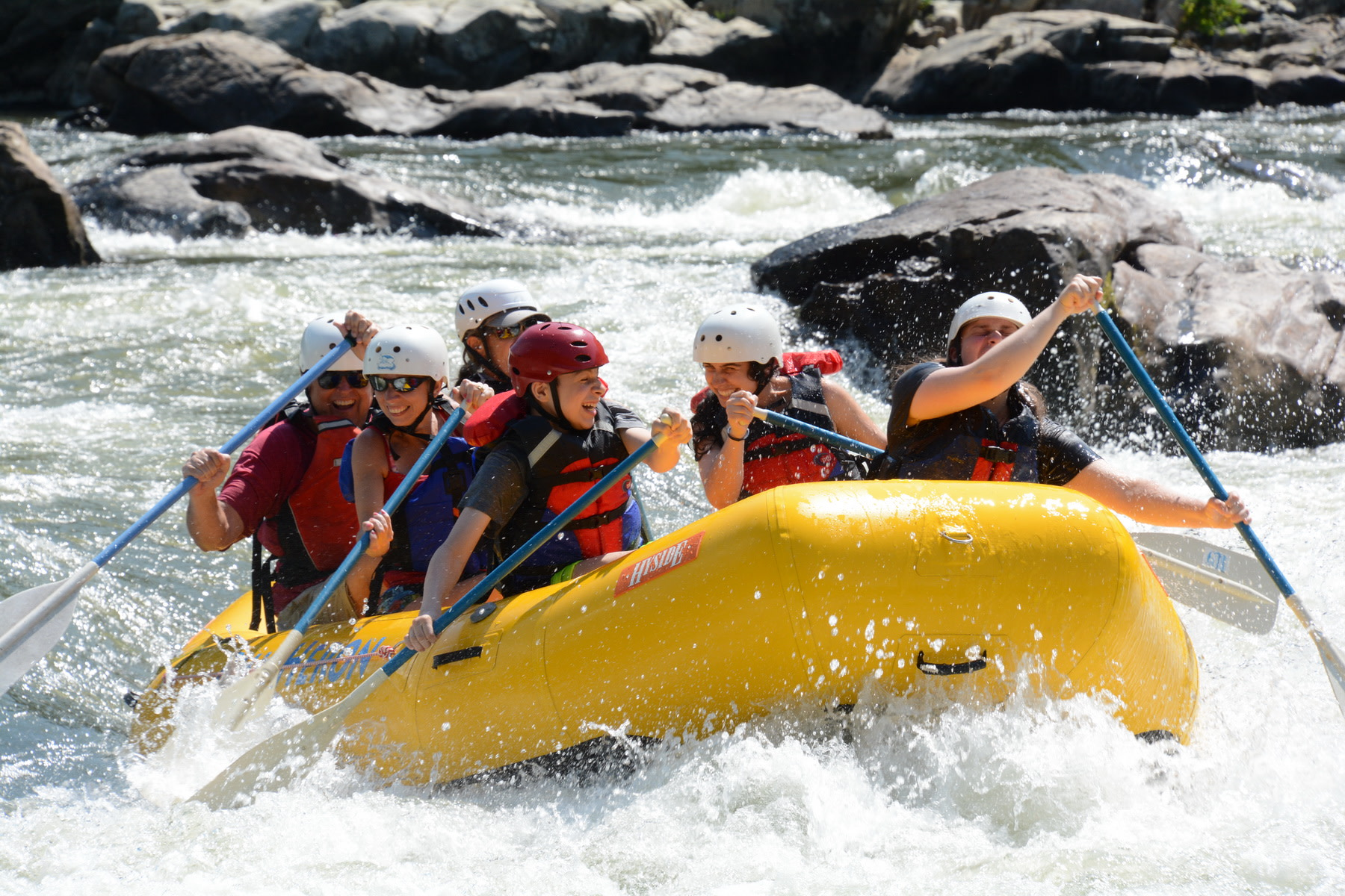 Blue Heron Whitewater Rafting Adventure