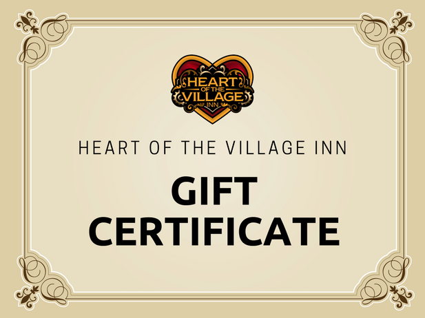 Heart of the Village Inn Gift Certificates.png