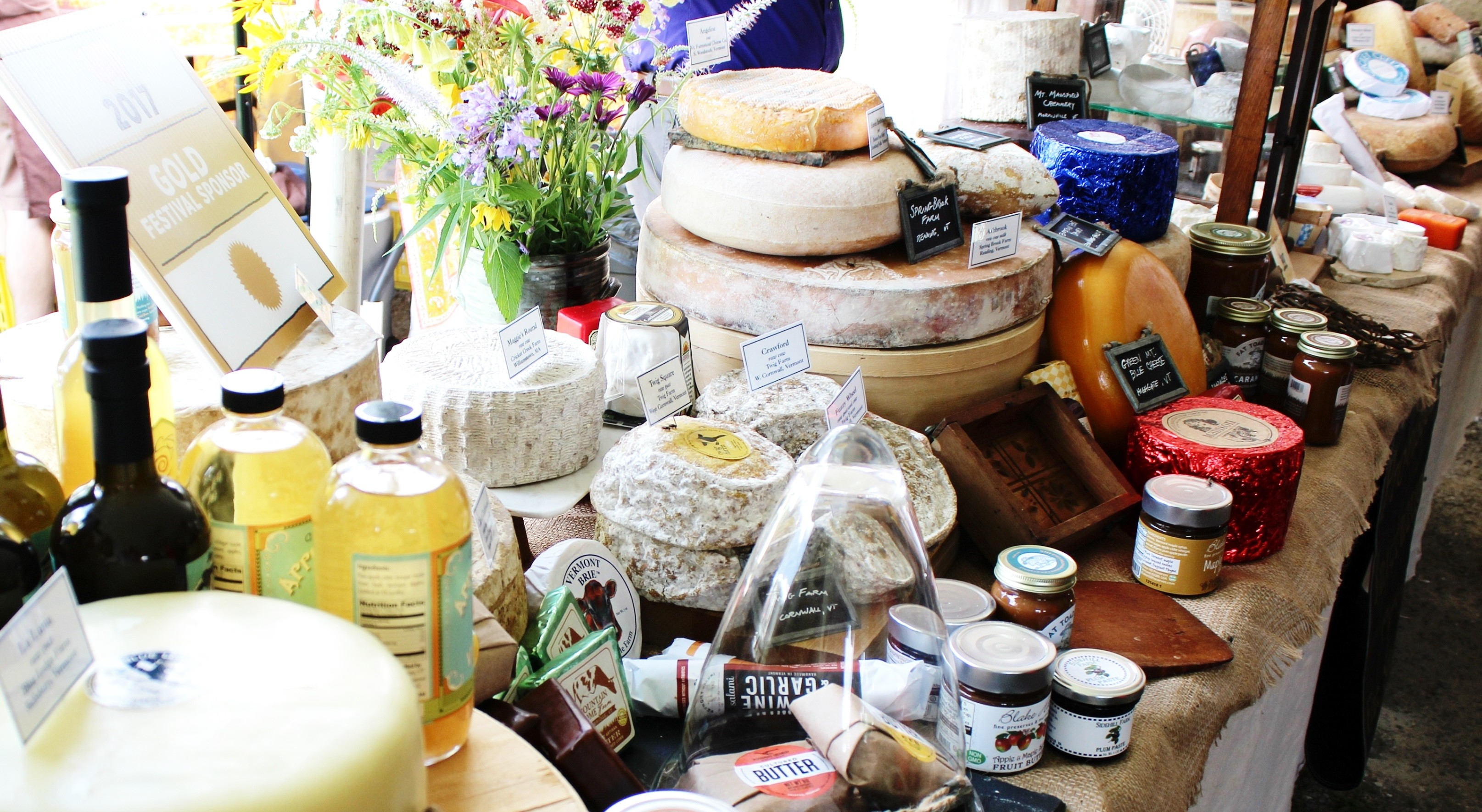 Vermont Cheesemakers Festival at Shelburne Farms near Heart of the Village Inn Bed and Breakfast Shelburne VT