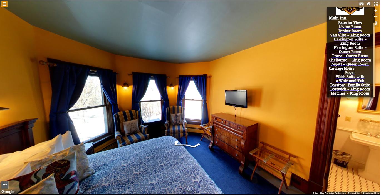 Heart of the Village Inn Virtual Tour Harrington King Room