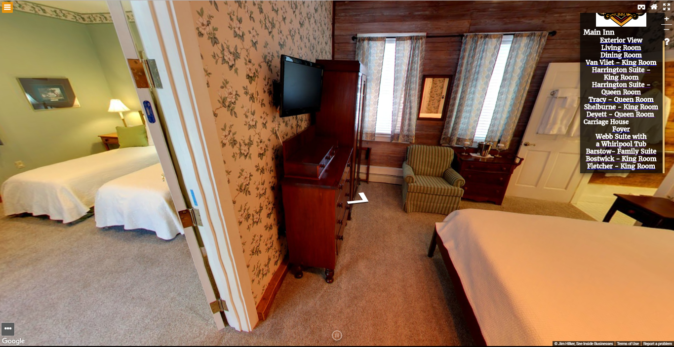 Heart of the Village Inn Virtual Tour Barstow Family Suite