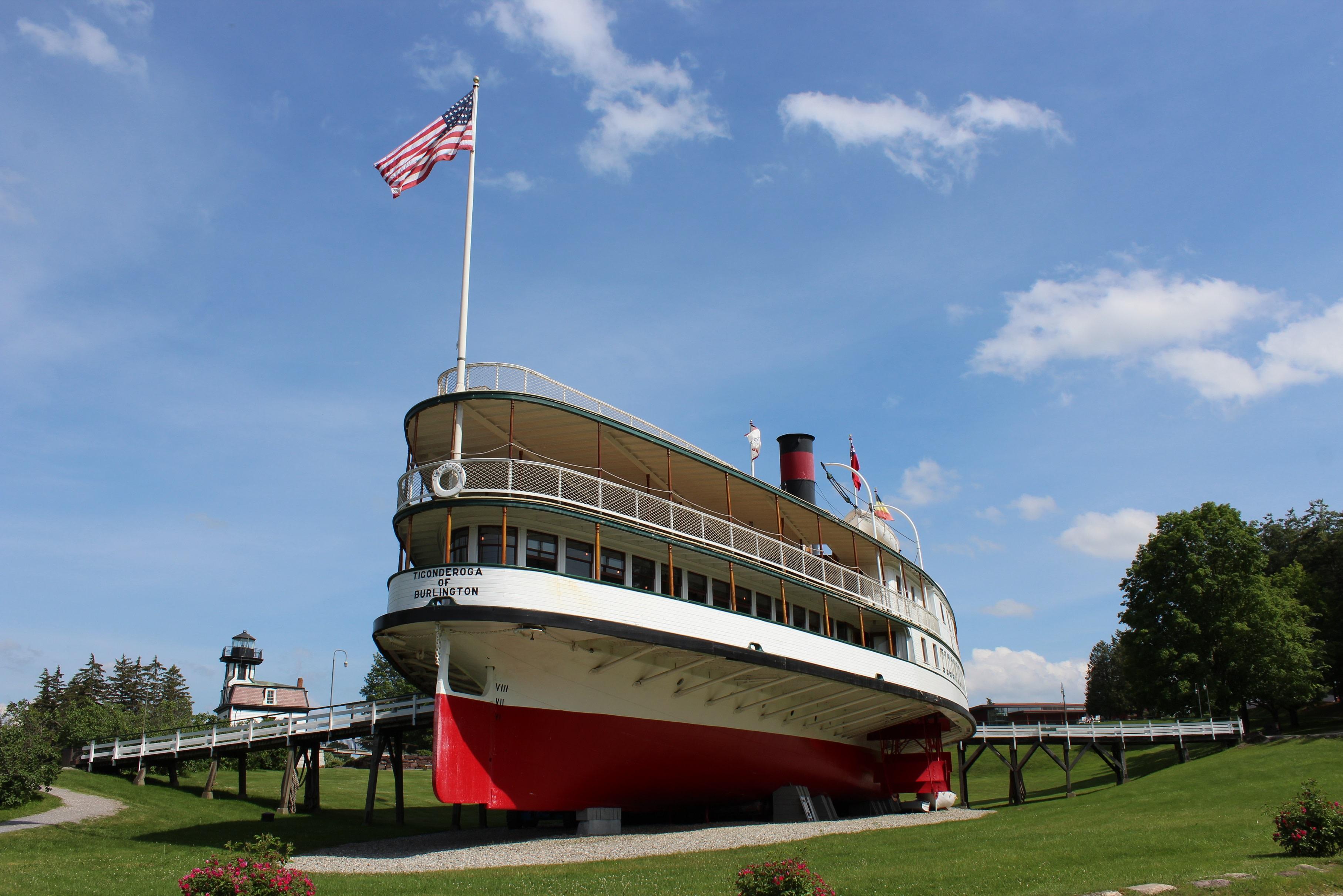 Shelburne Museum Ticonderoga Steamboat Heart of the Village Inn