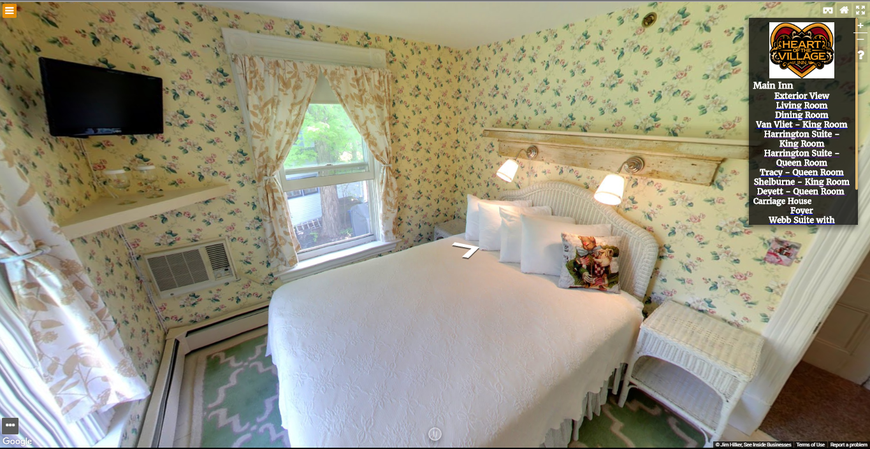 Heart of the Village Inn Virtual Tour Deyett Queen Room