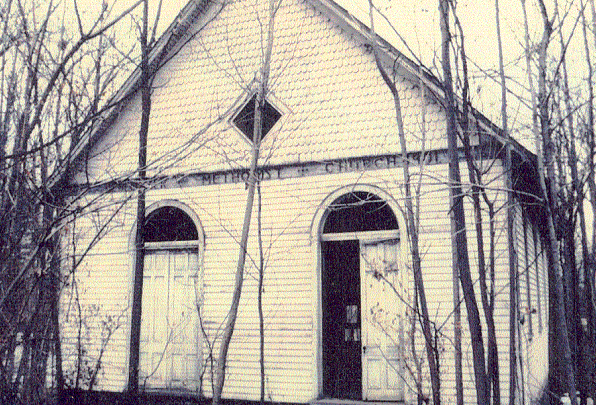 Original Abandoned Methodist Church cer.1980
