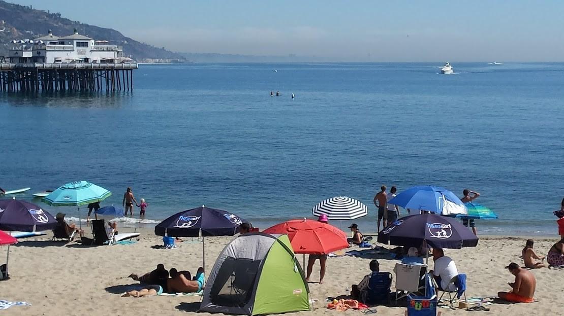 Malibu Beach great for swimming