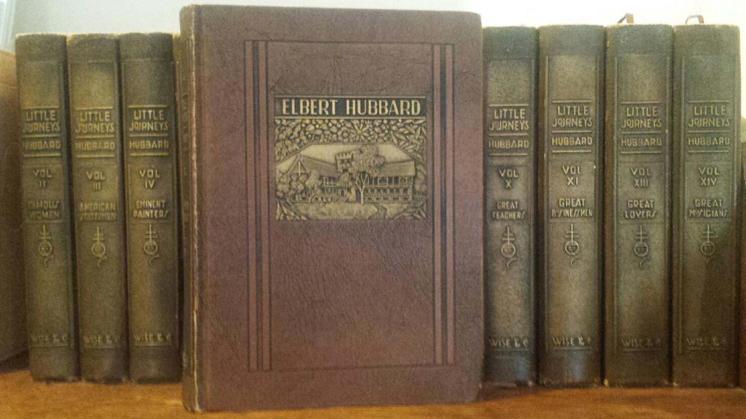 Elbert Hubbard Little Journeys RoyCroft